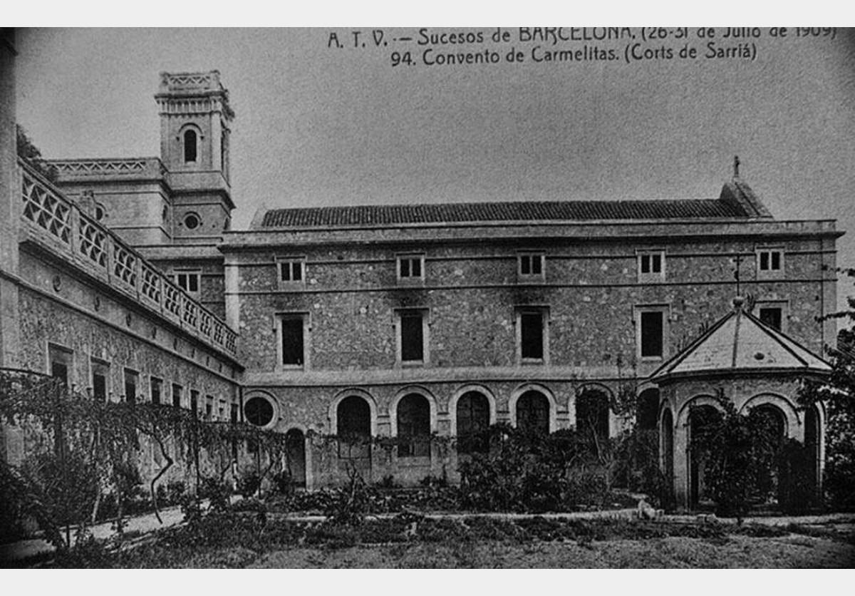 Imatges històriques del Col·legi Santa Teresa de Lisieux 02