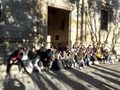 Visita al Museu Geològic del Seminari de Barcelona