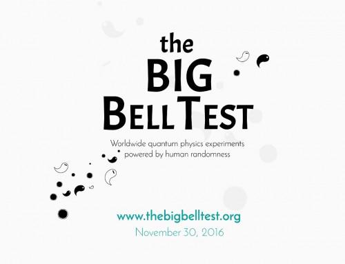The Big Bell Test: 30 de novembre de 2016