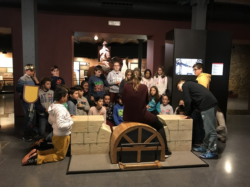 6è de Primària visita el Museu d'Història de Catalunya