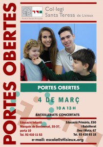 Portes obertes 2017, Santa Teresa de Lisieux, Les Corts, Barcelona