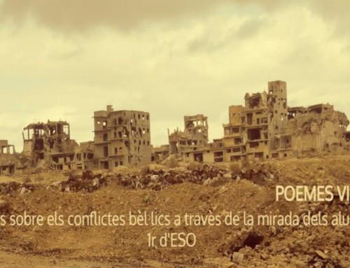 Reflexions literàries dels alumnes de 1r d'ESO sobre els conflictes bèl·lics