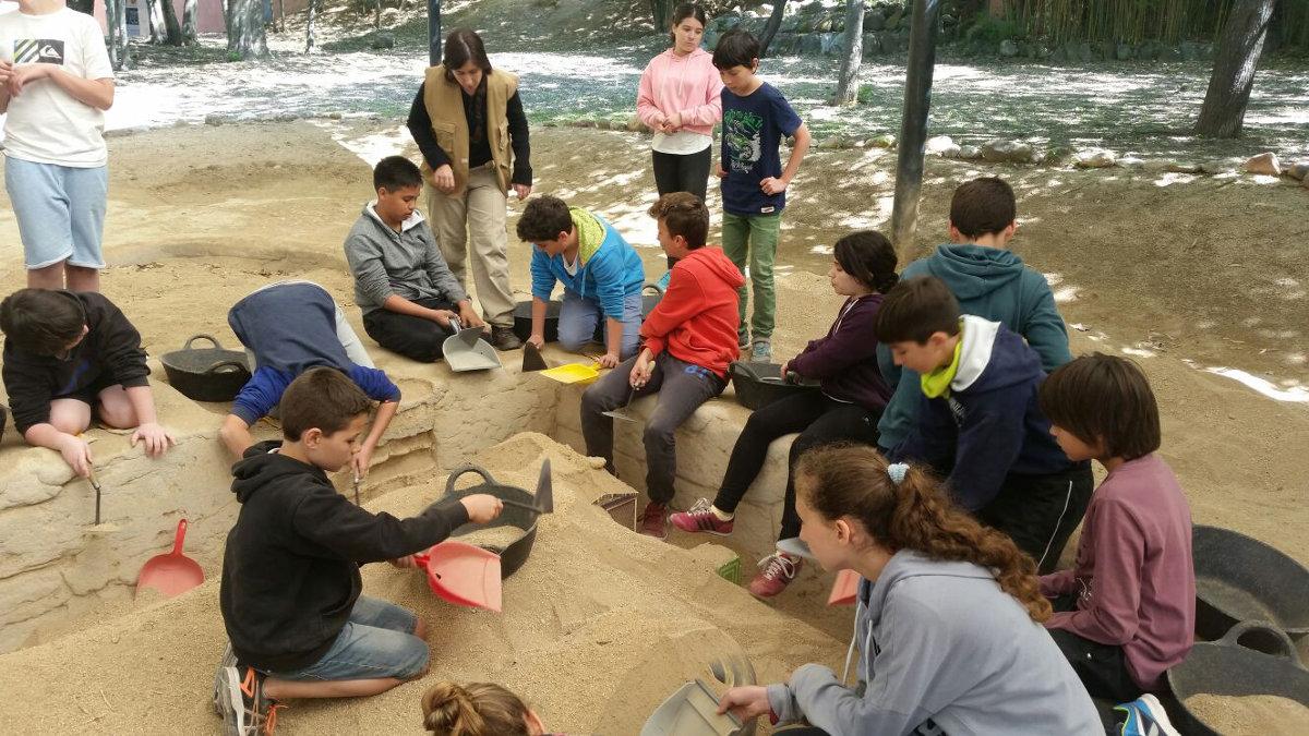 Arqueologia a Palau de Plegamans