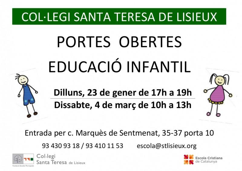 Educació Infantil, portes obertes