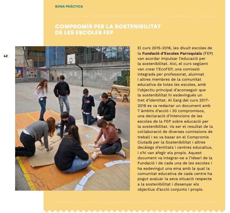 EcoFEP, compromís amb la sostenibilitat