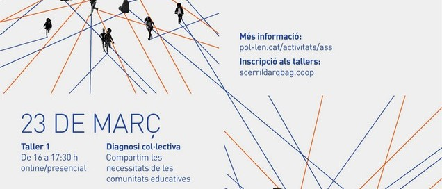Cartell TALLERS ARQUITECTURA A L'AULA